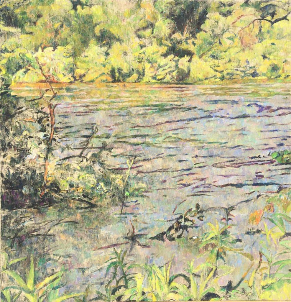 Vodna krajina-8, 2014, 90x 132cm, cena: 750€