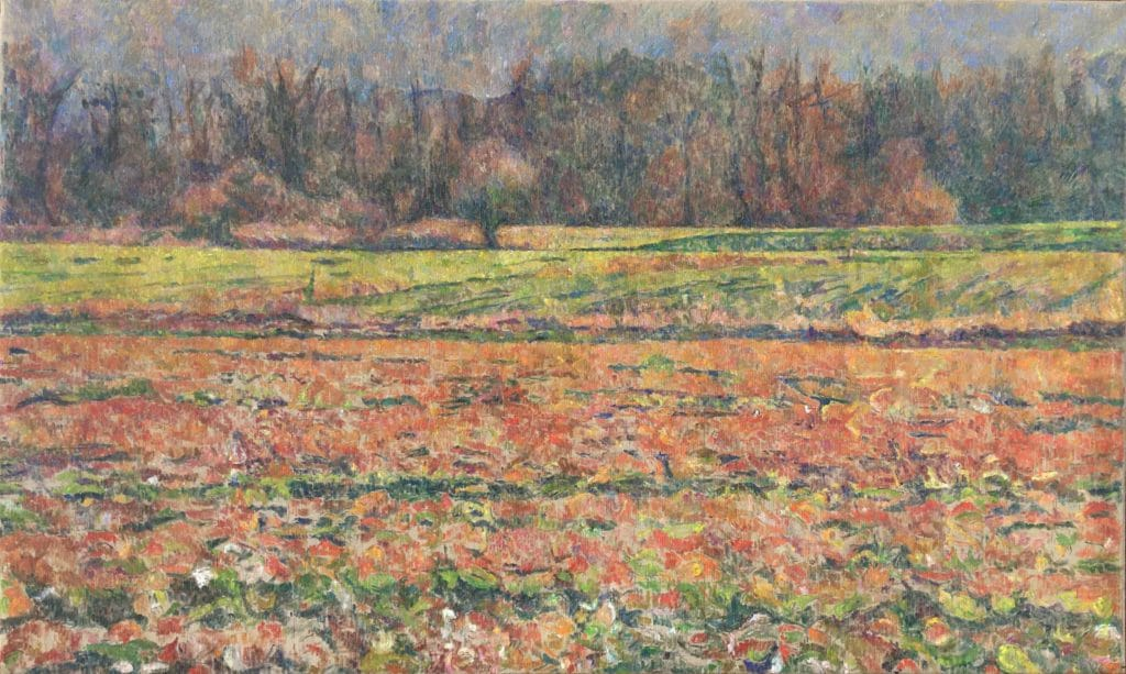 Rdeča krajina, 2013, 92 x 153 cm, cena: 800€