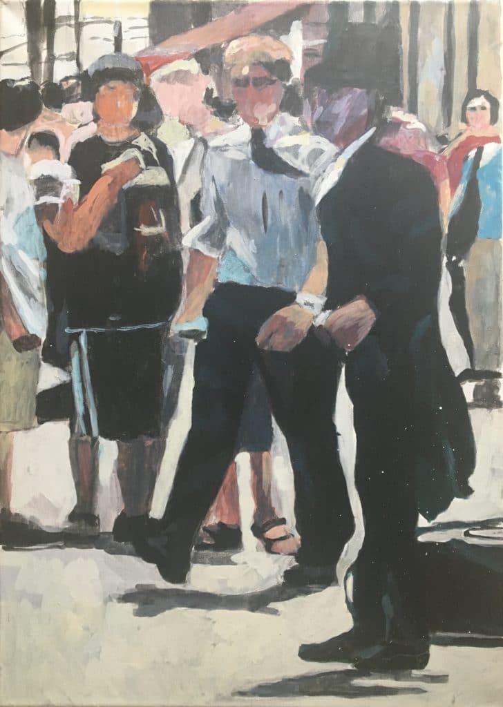 """""""Dunaj-mala"""", 70x50 cm, 150€"""